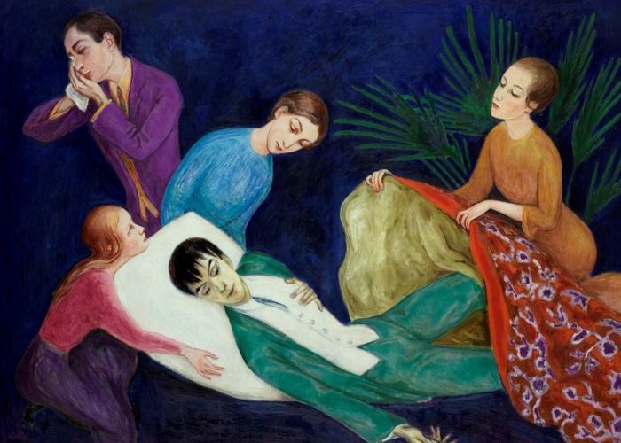 den døende dandy maleri